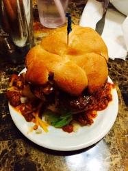 chili burger