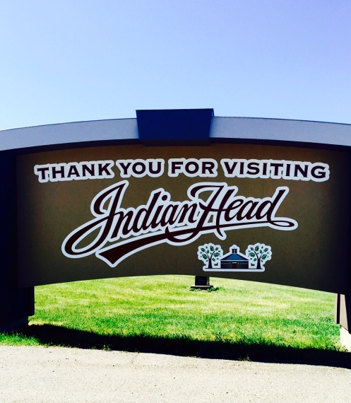 indian head sign
