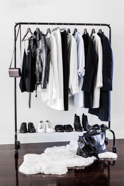 fall closet